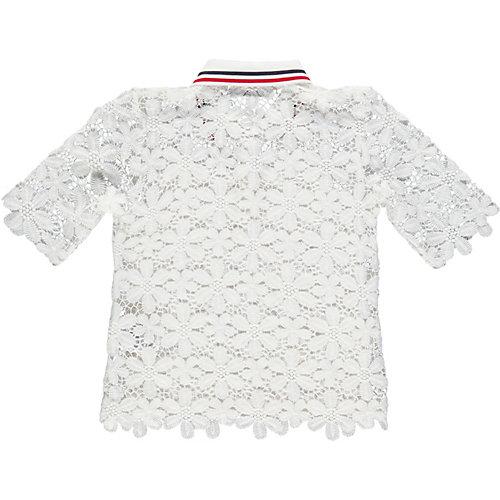 Комплект MEK: блузка и топ - белый
