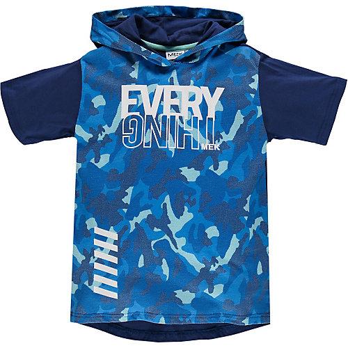 Футболка MEK - синий