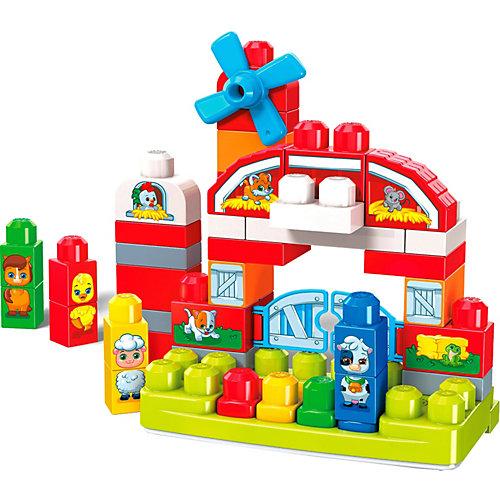"Конструктор Mega Bloks First Builders ""Музкальная ферма"", 46 деталей от Mattel"