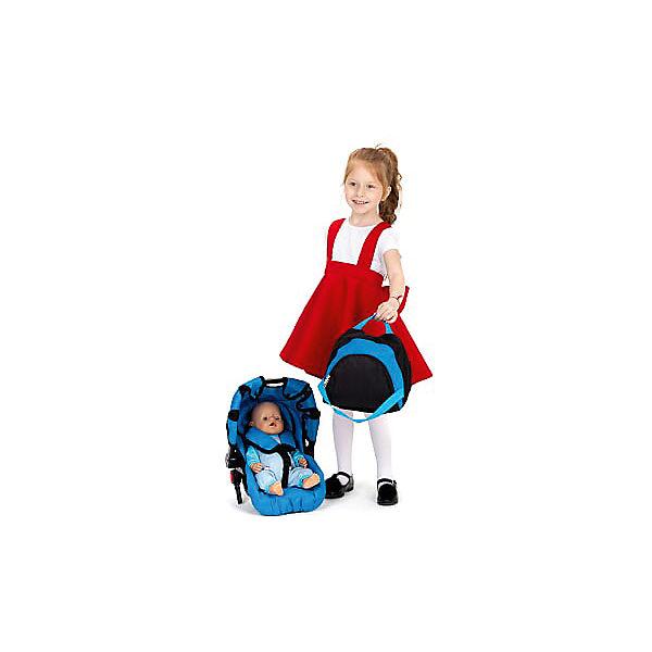 Коляска для кукол Buggy Boom Aurora, лазурная