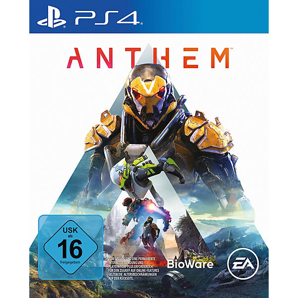 PS4 Anthem - Standard Edition