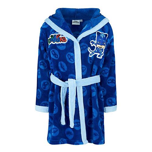 PJ Masks Pyjamahelden Coral fleece Bademantel Gr. 116 Jungen Kinder   04060617952242