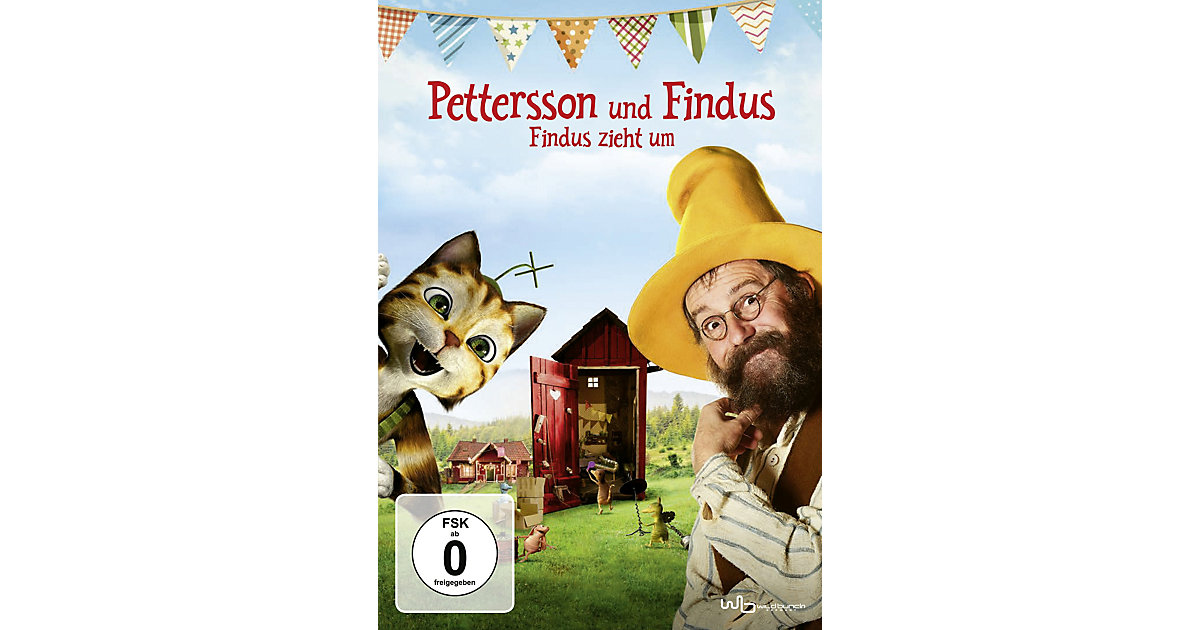 DVD Pettersson und Findus - Findus zieht um Hörbuch