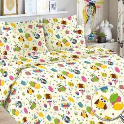 Детское постельное белье 3 предмета Letto, простыня на резинке, BGR-105