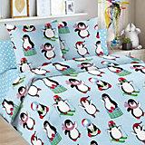 Детское постельное белье 1,5 сп Letto, Пингвин