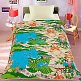Покрывало-одеяло Letto, Джунгли, 140х200 см