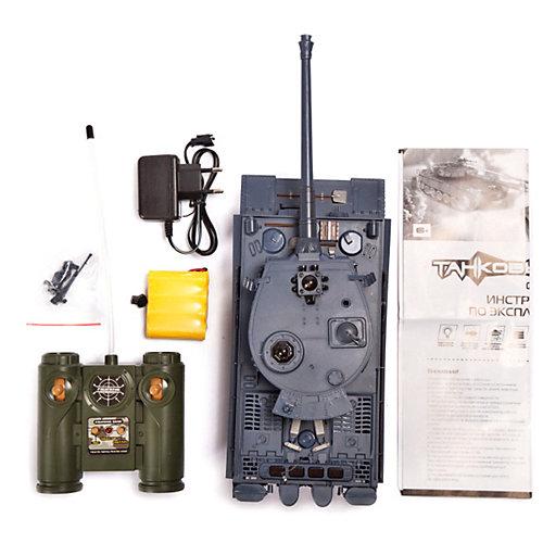 """Танк Mioshi Army """"Танковый Бой: Тигр-МI"""" на радиоуправлении, свет/звук от Mioshi"""