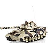 """Танк Mioshi Army """"Танковый Бой: Королевский Тигр"""" на радиоуправлении, свет/звук"""