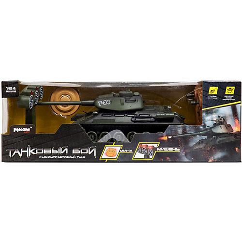 """Танк Mioshi Army """"Стрельбы: Легендарная 34-ка"""" на радиоуправлении, свет/звук от Mioshi"""