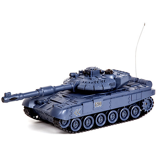 """Танк Mioshi Army """"Стрельбы: MТ-90"""" на радиоуправлении, свет/звук, серый от Mioshi"""