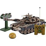 """Танк Mioshi Army """"Стрельбы: MТ-90"""" на радиоуправлении, свет/звук, камуфляж"""