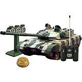 """Танк Mioshi Army """"Стрельбы: MZTZ-99"""" на радиоуправлении, свет/звук"""