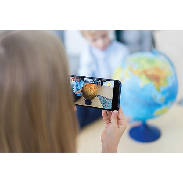 Интерактивный глобус Земли Globen физико-политический с подсветкой, 320мм