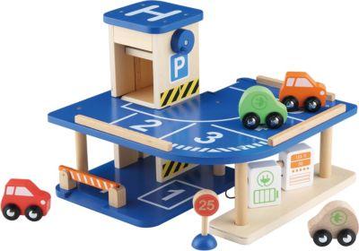 Spielzeugautos Holz Tankstelle Werkstatt Parkgarage Garage Service Center Spielzeug Auto
