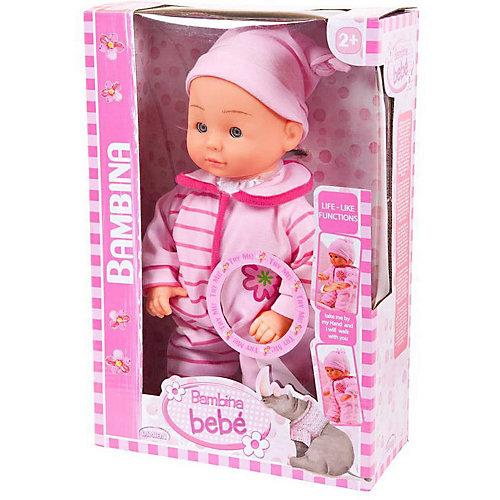 "Кукла Abtoys ""Bambina Bebe"" Первые шаги, 33 см от ABtoys"