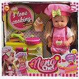 """Кукла Abtoys """"Nena"""" шев-повар,36 см"""