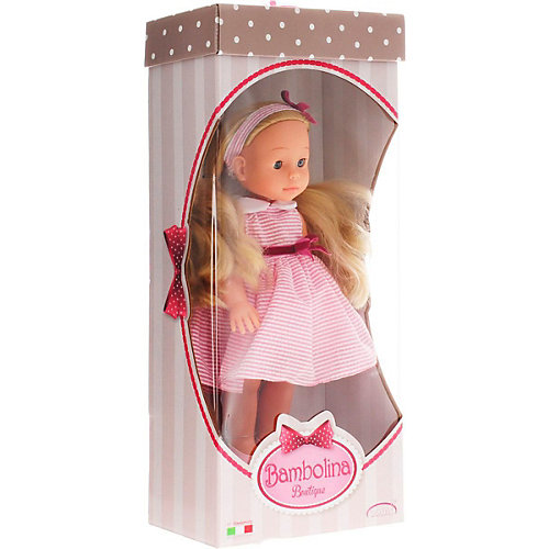 "Интерактивная кукла Abtoys ""Bambolina Boutique"", 42 см от ABtoys"