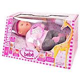 """Кукла Abtoys """"Bambina Bebe"""" с живой мимикой и звуковыми эффектами, 40 см"""