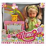 """Кукла Abtoys """"Nena"""" набор с цветком,36 см"""