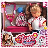 "Кукла Abtoys ""Nena"" ветеринар, 36 см"
