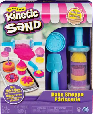 Кинетический песок набор для лепки Пекарня
