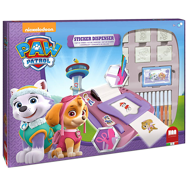 PAW PATROL GIRL Sticker Machine