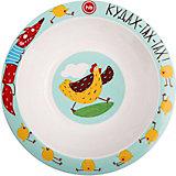 Тарелка глубокая для кормления Happy Baby, chicken