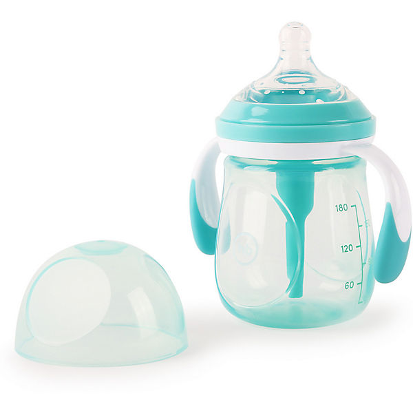 Бутылочка антиколиковая Happy Baby 180 мл, mint