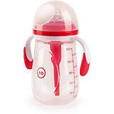 Бутылочка антиколиковая Happy Baby 300 мл, ruby