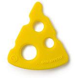 Прорезыватель силиконовый Happy Baby, yellow