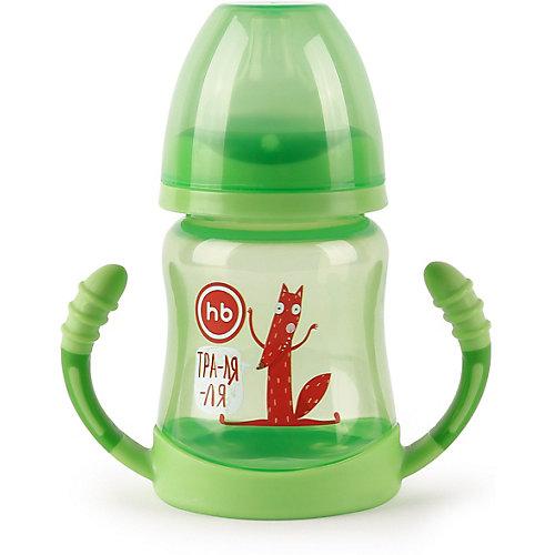 Поильник для кормления с ручками Happy Baby 210 мл, grass - желтый от Happy Baby