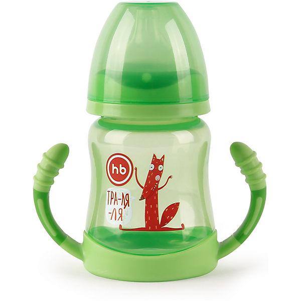 Поильник для кормления с ручками Happy Baby 210 мл, grass