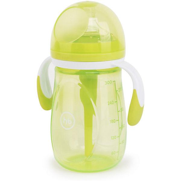 Бутылочка антиколиковая Happy Baby 300 мл, lime