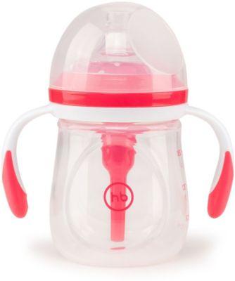 Бутылочка антиколиковая Happy Baby 180 мл, ruby
