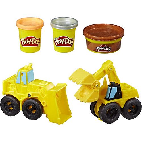 Игровой набор Play-Doh Wheels Экскаватор от Hasbro