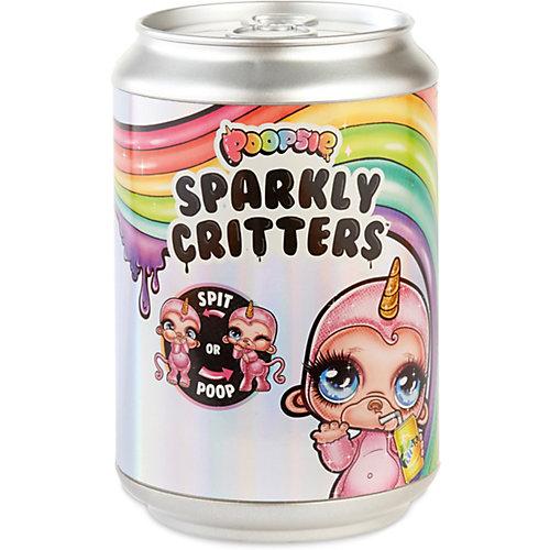 Игрушка-слайм Poopsie Sparkly Critters в банке газировки от MGA