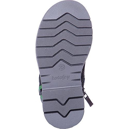 Ботинки Котофей - grau/grün от Котофей