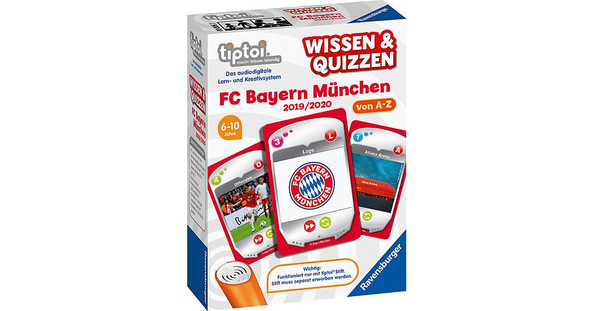 tiptoi® Wissen & Quizzen: FC Bayern München 2019/ 2020 (ohne Stift)