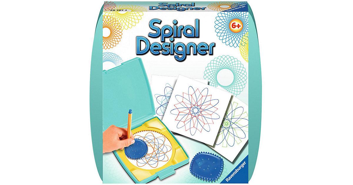 Spiral-Designer Mini, mit 2 Zahnrädern türkis