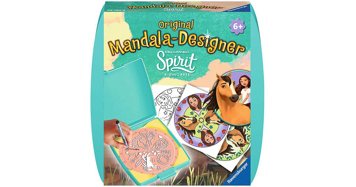 Mandala-Designer® Mini Set mit 1 Schablone, Spirit