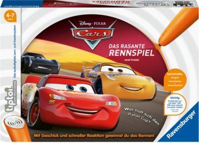 tiptoi® Spiel Cars 3 Das rasante Rennspiel, Disney Cars