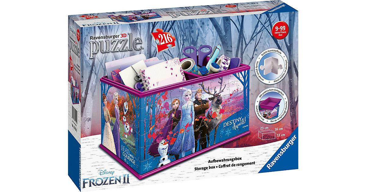 Image of 3D-Puzzle Aufbewahrungsbox, 23x16x13 cm, 216 Teile, Die Eiskönigin