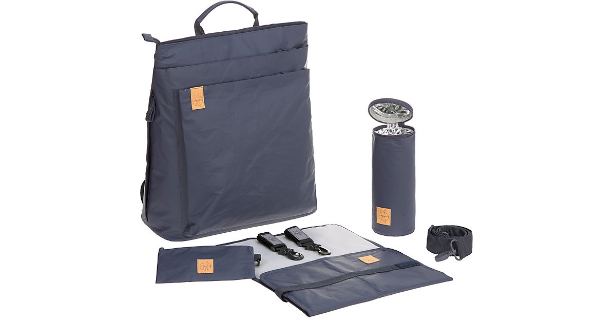 LÄSSIG · Wickelrucksack Tyve, Backpack, Greenlabel, navy