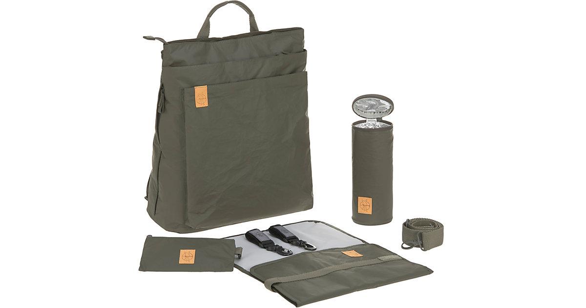 LÄSSIG · Wickelrucksack Tyve, Backpack, Greenlabel, olive