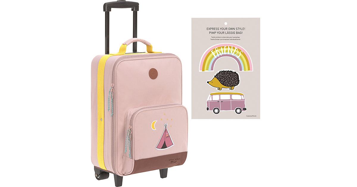 Trolley 4Kids, Adventure Tipi, pink   Taschen > Koffer & Trolleys > Trolleys   Pink   Polyester   Lässig