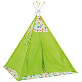 Палатка-вигвам детская Polini kids Жираф, зеленый