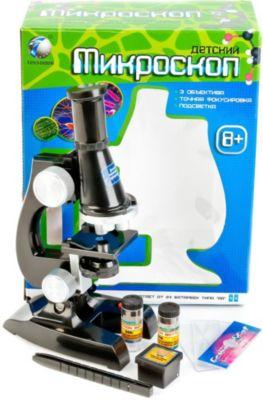 Микроскоп Tongde с аксессуарами и светом