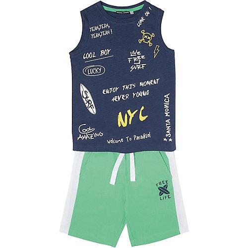 Комплект:футболка,брюки Original Marines для мальчика - зеленый от Original Marines