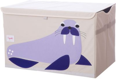 Сундук для хранения игрушек 3 Sprouts Синий морж