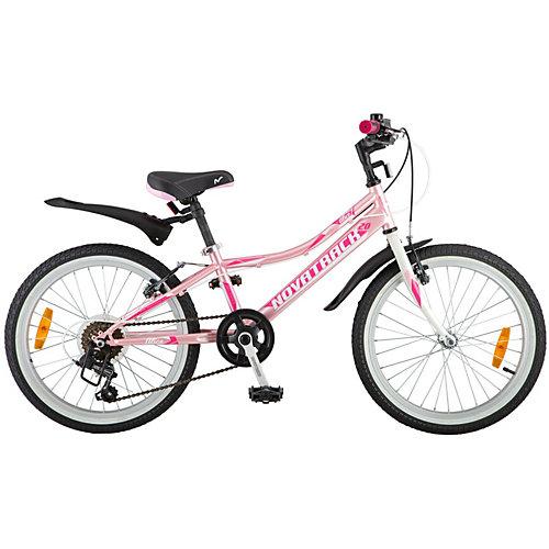 Велосипед Novatrack Alice 20 дюймов, розовый от Novatrack